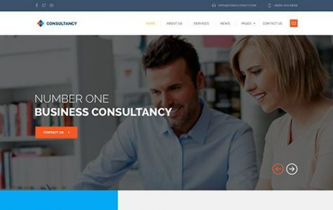 Consultancy - Consulting WordPress Theme