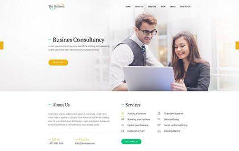 The Business | Corporate & Business WordPress Theme