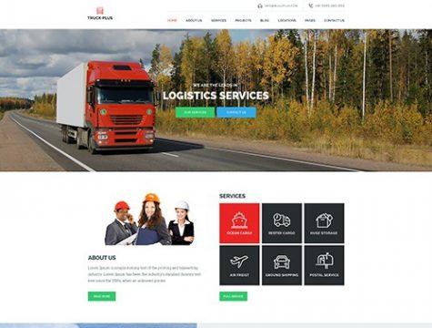 Truck Plus - Logistics & Transportation WordPress Theme